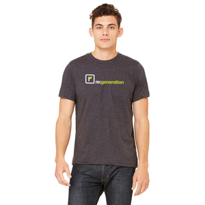 Bella + Canvas Unisex Jersey T-Shirt - 52% combed ringspun cotton, 48% polyester t-shirt with a retail fit.