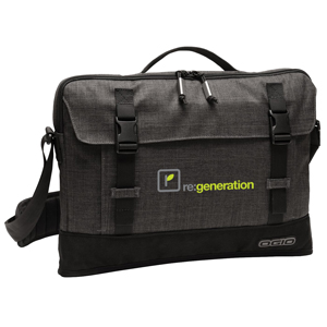 OGIO® Apex 15 Slim Case - Don't let its heathered good looks fool you.
