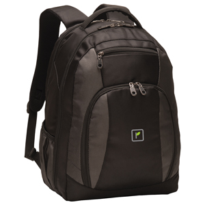 Port Authority® Commuter Backpack - Our expansive, durable backpack has a checkpoint-friendly clamshell opening-making it user-friendly while safeguarding your laptop and tablet.